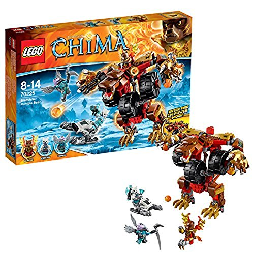 LEGO Legends of Chima 70225 - Bladvics Grollbär (Hero Ps4 Lego)