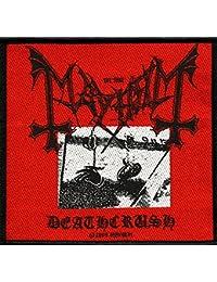 Mayhem parche deathc Rush Patch tejida 10x 10cm