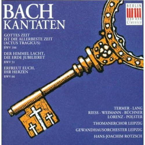 """Gottes Zeit ist die allerbeste Zeit, BWV 106 """"Trauerkantate"""": No. 1, Sonatina"""