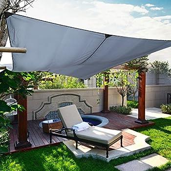 Amazon.de: Sonnensegel, 3 x 4 m Markise, Terrasse