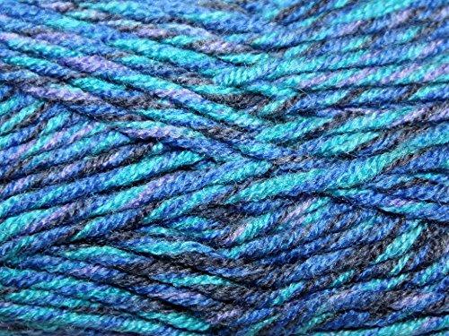 Stylecraft Mosaic Knitting Yarn Super Chunky 3617 Impressionism - per 100 gram ball