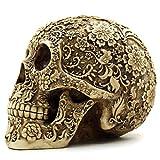 OULII Cranio Umano Modello Teschio Resina Decorazione di Halloween Feste