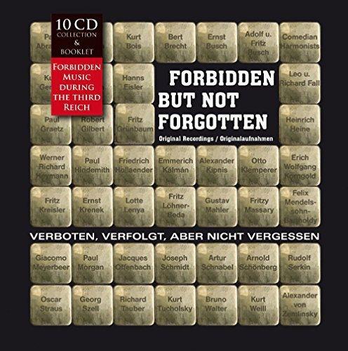 Forbidden but Not Forgotten / Verboten, Verfolgt, Aber Nicht Vergessen!