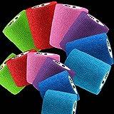 Wrapz colore confezione assortita bendaggio 7.5cm x 5m. Confezione da 6