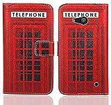 Microsoft Lumia 550 Handy Tasche, FoneExpert® Wallet Case Flip Cover Hüllen Etui Ledertasche Lederhülle Premium Schutzhülle für Microsoft Lumia 550 (Pattern 12)