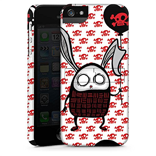 Apple iPhone X Silikon Hülle Case Schutzhülle Hase Herz Bunny Premium Case StandUp