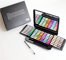 Pure Vie® Professional 84 Colors EyeShadow Palette Makeup Contouring Kit