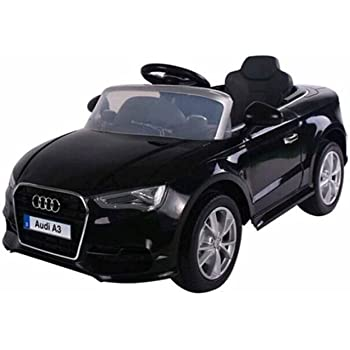 5239174071fb Audi A3 12V Kids Ride on Car Children Christmas Gift Toy Car MP3 With Remote  Control (Black)