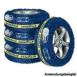 Goodyear Reifentaschen 4Stück blau max.19'' Autoreifentaschen Aufbewahrung Schutz