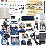 MagiDeal Projekt Komplettes Vollständige Ultimate Starter Kit Für Arduino UNO R3 Mikrocontroller und Viel Zubehör