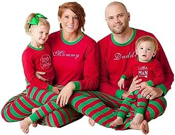 Zhuhaixmy Flapjacks Onesie Christmas Family Matching Pajamas - Adult Kids and Infant PJs Xmas Holiday Sleepwear One-Piece Nightwear