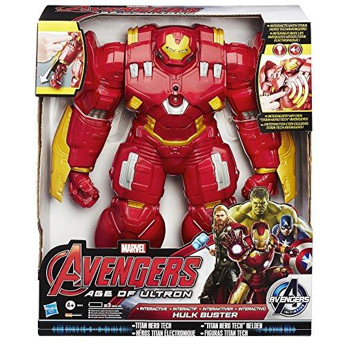 Hasbro B0441EU4 - Avengers Titan Hero, Hulkbuster, action figure interattiva