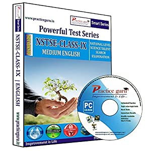 Practice Guru NSTSE Class 9 Test Series (CD) [CD-ROM]