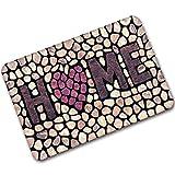 C-Bin-1 Home Fußmatten, Rechteck Kopfsteinpflaster Fliesenmuster Digitaldruck Gummi Fußmatte Badezimmer Küche Wohnzimmer Soft rutschfeste Schützen Sie den Boden ( Farbe : A , größe : 40*60CM )