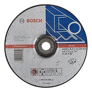 Bosch Professional 2608600386 Schleifzubehör Schruppsch.230 x 8  mm F.Stahl
