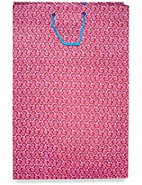 Florishkart Hand Crafted Handmade Paper Flower Printed Bag For Carry /Shopping / Party Bag Gift Hamper Bags Pack... - B078GGGLQC