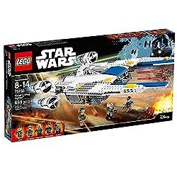 659 Count LEGO Star Wars Rebel U-Wing Fighter Model#75155 by LEGO