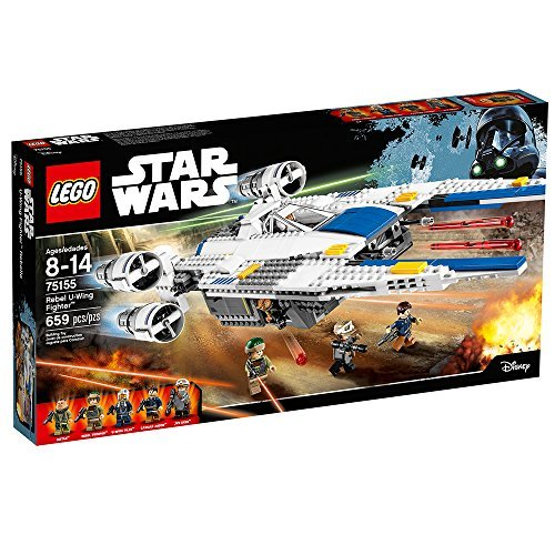 659 Count LEGO Star Wars Rebel U-Wing Fighter Model#75155 by ()