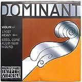 Thomastik cuerda suelta para 4/4 violín dominant - cuerda mi núcleo de acero, entorchado de aluminio, fuerte, bola.