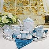 Sursy Keramik-Kaffee Tee Zu Hause Kaffeemaschine Tasse Und Untertasse Antike Keramik-Kaffee