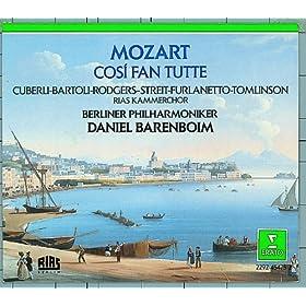 """Mozart : Cosi fan tutte : Act 1 """"Che sussurro"""" [Don Alfonso, Dorabella, Fiordiligi, Ferrando, Guglielmo, Despina]"""