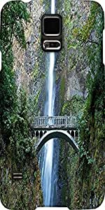 Snoogg Multnomah Falls Bridge Designer Protective Back Case Cover For Samsung...