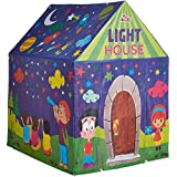 Akshat Play Tent House With Led Lights, Multi Color