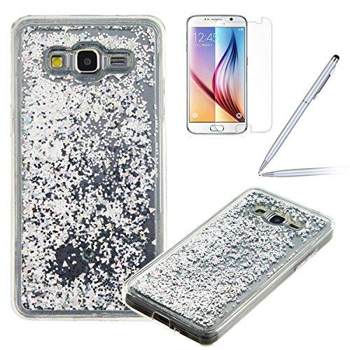 Felfy-Bling-Coque-pour-Samsung-Galaxy-Grand-Prime-G530Galaxy-G530-Coque-Liquide-Bling-Etui-Samsung-G530-Plastique-TPU-Silicone-Gel-Soft-Coque-EtuiSamsung-Galaxy-Grand-Prime-G530-Case-Transparent-Cover