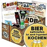 Bier kalt stellen ist auch irgendwie kochen | DDR Box | mit Bier, Schnaps, Kondomen und mehr | GRATIS Aufkleber - Bier kalt stellen ist auch irgendwie kochen
