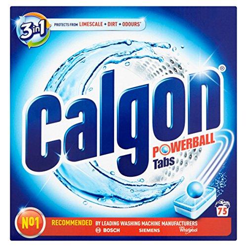 Calgon Pastiglie Anticalcare 2 in 1, 75 Tabs