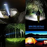 Lighting Dynasty CREE LED Torch, Super Bright, Adjustable Focus, DURACELL Batteries Included [Energy Class A] Bild 7