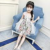 XM Kinderrock Prinzessin Kleid Sommer Kinderkleidung Kinder Blumen Bestickt Mädchen Kleid