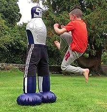 Boxsack Trainingssack für Kampfsportarten wie Kickboxen Karate Taekwondo Thaiboxen und Boxen Kampfkunst Kung Fu StandBoxsack MMA Muay Thai Punchingbälle Standboxsäcke