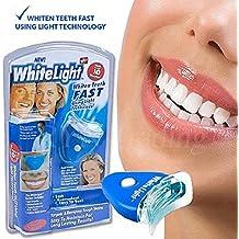 Kit de blanqueamiento dental de WhiteLight, Sistema de blanqueamiento bucal para el hogar (1 paquete)