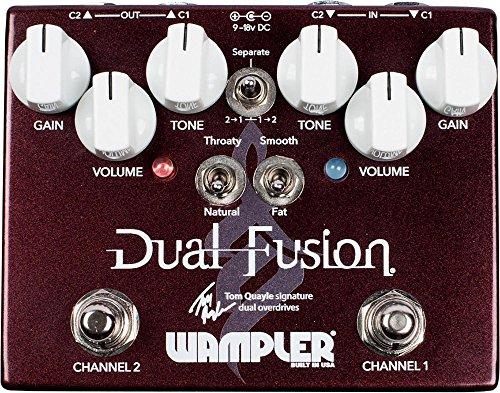 Wampler Dual Fusion Tom Quayle - Pedal de efectos para guitarra eléctrica