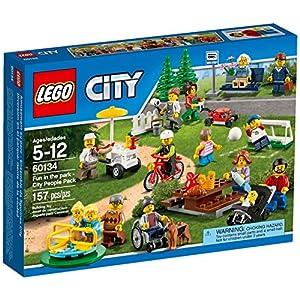 LEGO City 60134 - Set Costruzioni Divertimento al Parco, City People Pack 0732235197025 LEGO