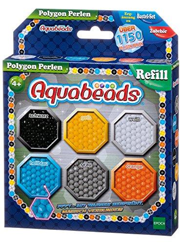 Aquabeads 30049 Refill Polygon-Perlen