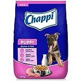 Chappi Puppy Dry Dog Food, Chicken & Milk, 8 kg