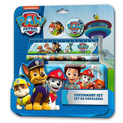 Preisvergleich Produktbild Kids Euroswan - Paw Patrol PW16005- Set de papelería 5 piezas