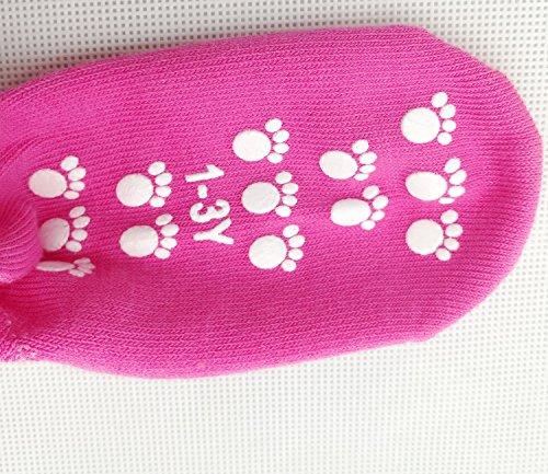 TUKA Anti-scivolo ABS Calzini per Bambini TKB7000 calzini Antiscivolo con grip per ragazzi neonati