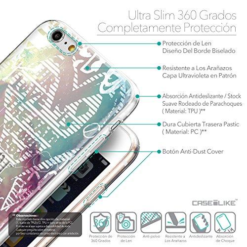 CASEiLIKE Comic Beschriftung 2914 Ultra Slim Back Hart Plastik Stoßstange Hülle Cover for Apple iPhone 6 / 6S Plus (5.5 inch) +Folie Displayschutzfolie +Eingabestift Touchstift (Zufällige Farbe) 2726