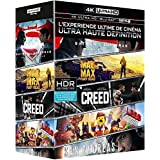 Coffret 4K Ultra HD : Batman v Superman + Mad Max Fury Road + Creed + San Andreas + La grande aventure Lego [4K Ultra HD + Blu-ray + Copie Digitale UltraViolet]