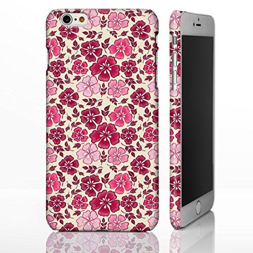 iCaseDesigner Handyhülle, Shabby Chic, Blumenmuster, für iPhone-Serie, maßgeschneiderte Designs, plastik, 10. Pink Roses on White Background, iPhone 5c 16. Red & Pink Flowers on Beige Background