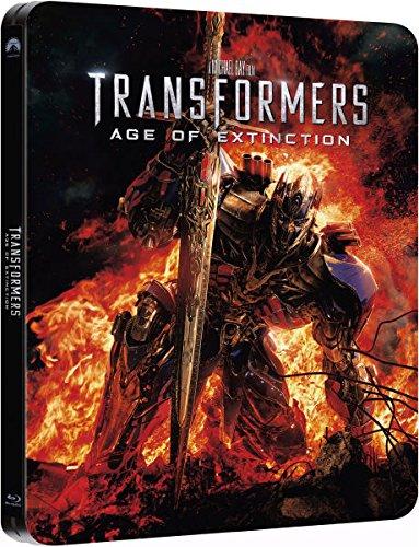 Transformers 4: Age of Extinction [Steelbook] [Blu-ray 3D]+[Blu-ray]