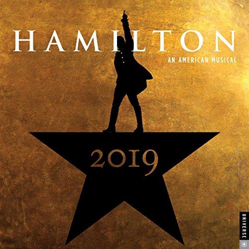 Hamilton 2019 Square Wall Calendar