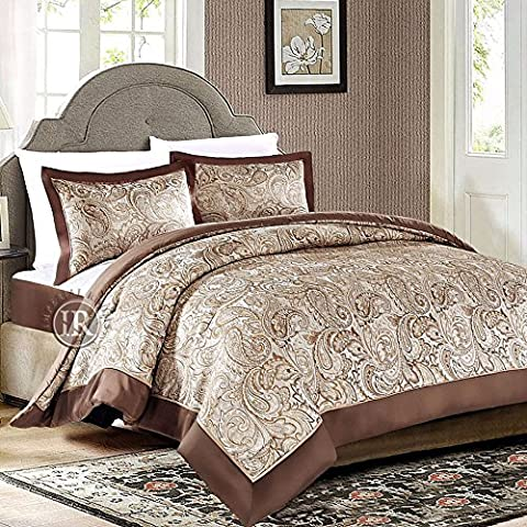 Imperial Rooms 3 Piece Jacquard Bedspread and Two Pillow Shams