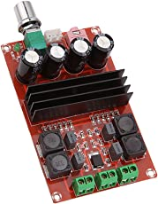 Segolike 1 Piece New High-Power 2 x 100W TPA3116 D2 Dual Channel Digital Audio Power Amplifier Board DC 12V - 24V for Arduino