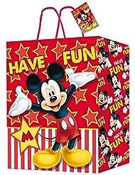 MICKEY - Bolsa papel 406x489x190 de mickey mouse