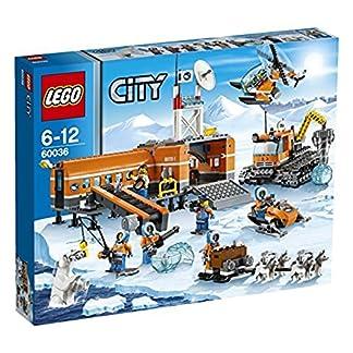 LEGO City – Campamento Base ártico, Juego de construcción (60036)