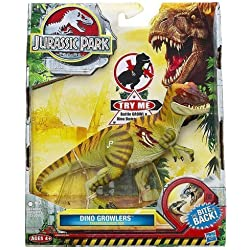 Jurassic Park Dino Growlers Tyrannosaurus Rex Figure T-REX Dinosaurs Growling (Toys) by Hasbro